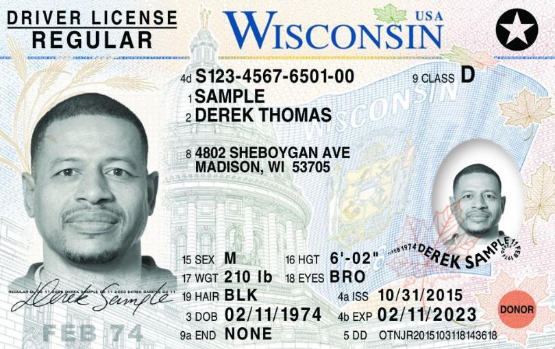 DMV driver, s license